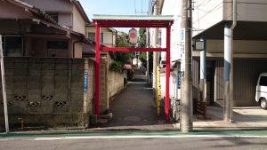 居木神社 表参道入口