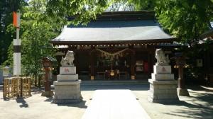 新田神社 境内