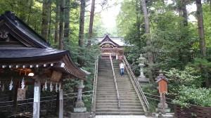 寶登山神社 石段