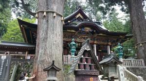 三峯神社 拝殿 (5)