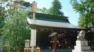 新田神社 社殿