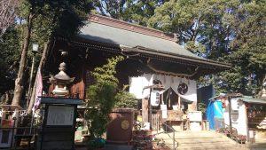 太子堂八幡神社 拝殿