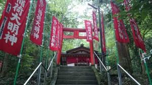 寶登山神社 宝玉稲荷神社 石段