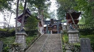 三峯神社 石段