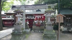 秩父神社 柞稲荷神社(倉稲魂神)