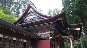三峯神社 拝殿 (1)