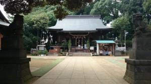 太子堂八幡神社 境内