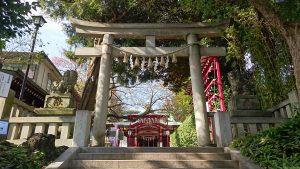 居木神社 一の鳥居