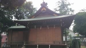 太子堂八幡神社 神楽殿