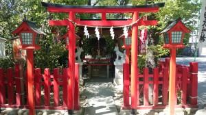 新田神社 稲荷社