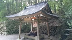 寶登山神社 手水舎