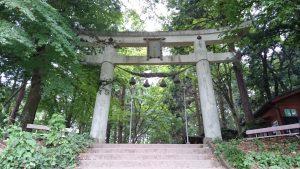 寶登山神社 奥宮 石鳥居