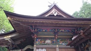 寶登山神社 拝殿側面
