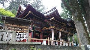 三峯神社 拝殿 (4)