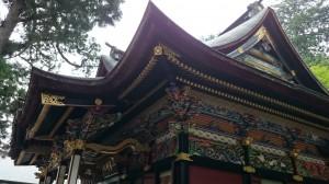 三峯神社 拝殿 (2)
