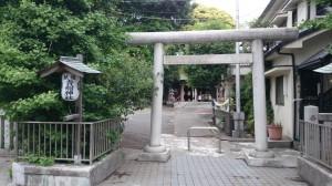 品川貴船神社 参道