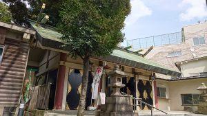 品川貴船神社 拝殿