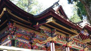 三峯神社 拝殿彫刻 (2)