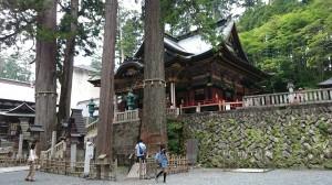 三峯神社 拝殿 (3)