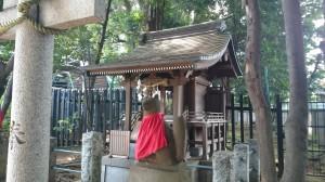 太子堂八幡神社 稲荷社 社殿