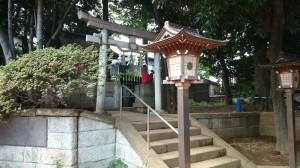 太子堂八幡神社 稲荷社 全景