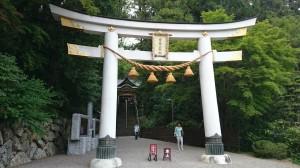 寶登山神社 二の鳥居