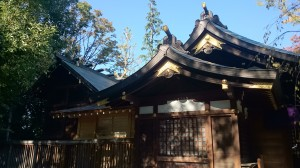 新田神社 本殿
