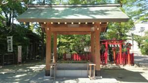 新田神社 手水舎