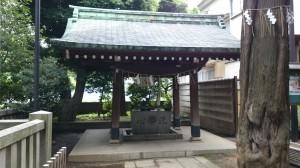 居木神社 手水舎