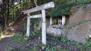 三峯神社 二ツ宮 鳥居