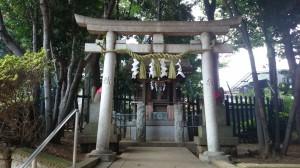 太子堂八幡神社 稲荷社 鳥居