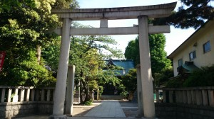 大森浅間神社 鳥居