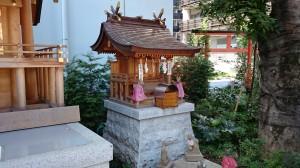 成子天神社 成子稲荷神社