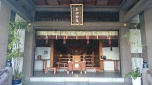 平田神社 拝殿