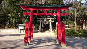 千束八幡神社 一の鳥居