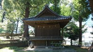 西向天神社 神楽殿