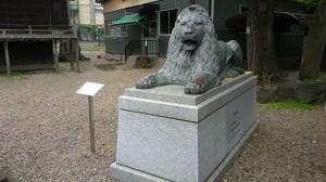 三圍神社(三囲神社) 旧三越池袋店ライオン像