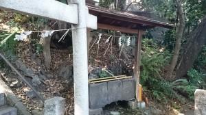 荒藺ヶ崎熊野神社 手水舎