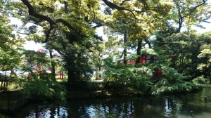 千束八幡神社 洗足池弁財天 (1)