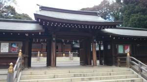 井草八幡宮 神門