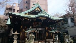 幸稲荷神社 社殿