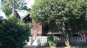 幡ヶ谷氷川神社 本殿