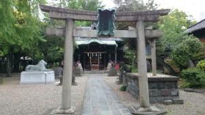 三圍神社(三囲神社) 三の鳥居
