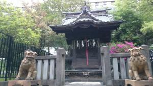 三圍神社(三囲神社)顕名霊社