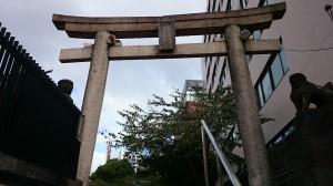 花園神社 西鳥居