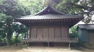 大井鹿嶋神社 神楽殿
