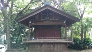 荒藺ヶ崎熊野神社 神楽殿