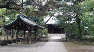 大井鹿嶋神社 参道