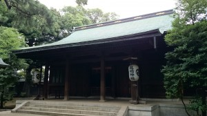 大井鹿嶋神社 拝殿