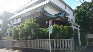 平田神社 社殿全景 (2)